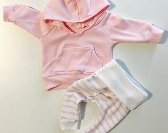 Baby girl outfit, pink baby outfit, newborn girl outfit, boutique baby outfit, designer baby outfit, toddler girl outfit, baby girl clothing