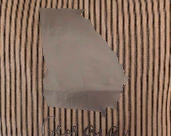 Georgia state pillow