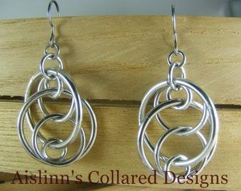 Illusions Loop Earrings
