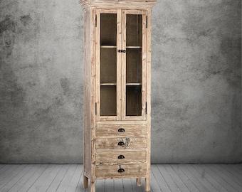 Bookcase, Bookshelves, Sideboard, Curio Cabinet, Reclaimed Wood, Display Cabinet, China Cupboard, Handmade