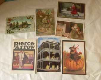 POSTCARDS-VINTAGE POSTCARDS-Assortment Of Collectible Cards