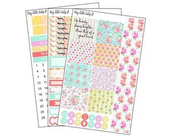 Planner Stickers Inner Beauty Kit for Mini Happy Planner