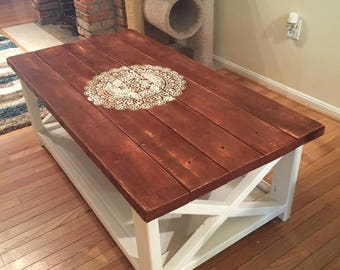 Rustic Coffee Table New At Image of Beautiful