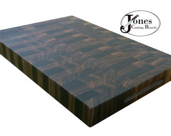 Walnut End Grain Cutting Board Butcher Block End Grain FREE Shipping JonesCuttingBoards