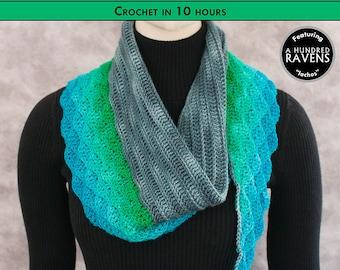 SIREN SONG Crochet Shawl Pattern [Digital File Download]