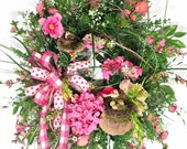 Large Spring Wreath, Hydr...