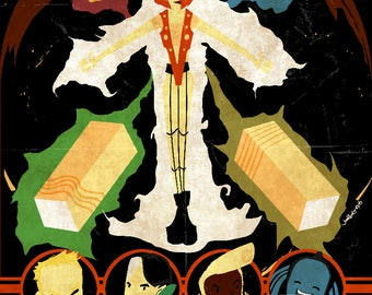 Le Cinquieme Element (The Fifth Element) Poster