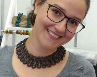 "English-Tutorial Necklace ""Loopy"" (PDF)"
