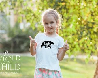 Bear Cub Shirt, Bear Cub, Bear family shirts, bear cub t-shirt, bear cub tshirt, baby bear shirt, baby bear t-shirt, baby bear tshirt