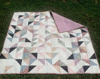 Sunrise Modern Quilt