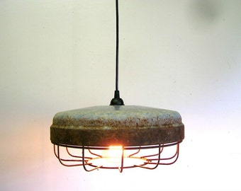 chicken feeder light, cage light, industrial light