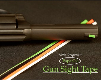 Gun Sight Tape, clearly see your sights. Easy to install!