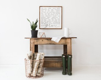 Everlasting Grace *The Original* - Aedriel - Wood Sign