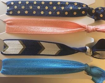 Decorative hair ties