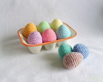 Crochet Easter Egg Decorations