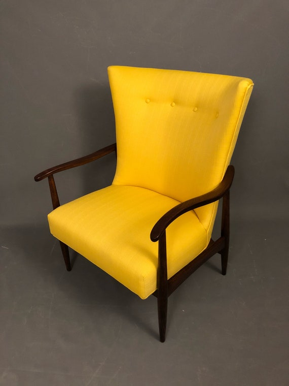 Mid century Danish lounge chair.