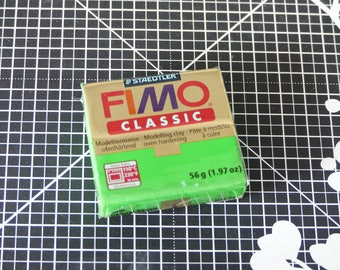 Polymer clay - dough baked - Fimo Classic - 5 - Green