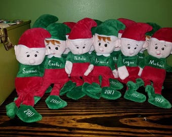 Personalised Christmas Elf