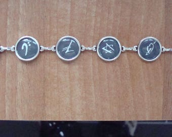 George Michael Faith symbol bracelet
