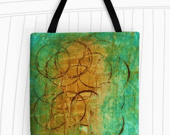 Morning Coffee Tote Bag. Modern Art Tote Bag, Reusable Bags, Large Tote Bag, Colorful Tote, Travel Bag, Coffee Lovers Tote, Coffee Tote Bag