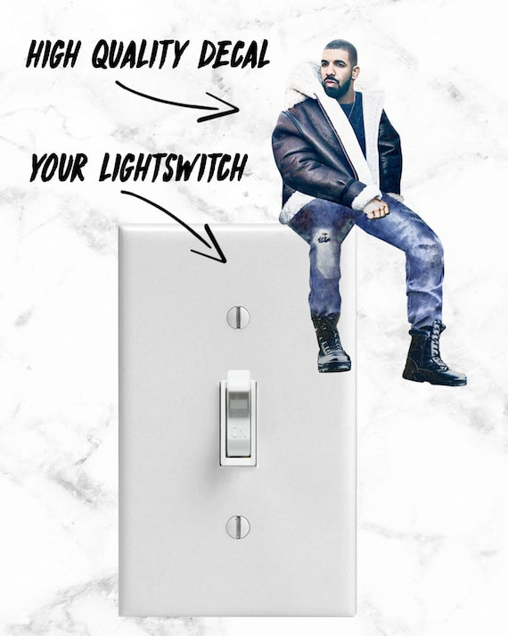 Drake drake stickers drake decal funny stickers decal laptop drake drake sticker bling light switch cool stickers meme from savageleague on