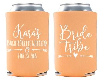 Custom Bachelorette Party Favor - Bride Tribe Bachelorette Can Cooler