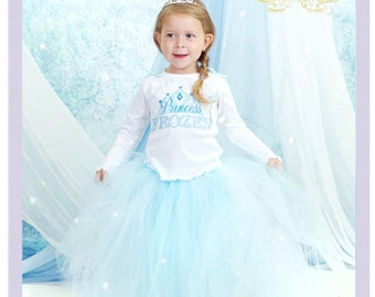 3 Pc Girls Frozen Outfit Frozen Birthday Outfit Princess Elsa Costume Little Girls Frozen Dresses 5 6 Year