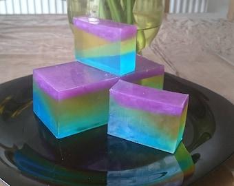 "Handmade ""Geometric 4"" soap"