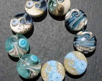 Lampwork Beads (9) Mix 11