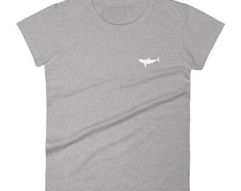 Womens Shark T Shirt Shark Conservation Save The Sharks Tee