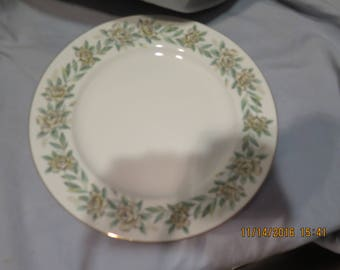 NORITAKE china ALAMEDA 520 pattern Dinner Plates 10.5""