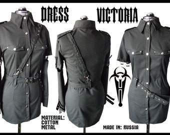 Cotton military dress