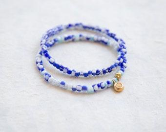 Santorini Stretch Bracelet Duo