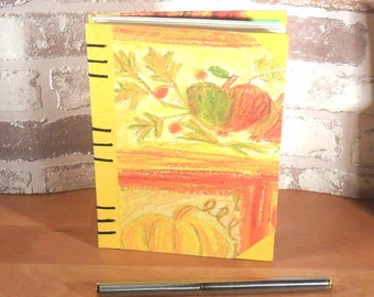 Notebook A6 autumn / / journal / / gift / / memories / / balnko