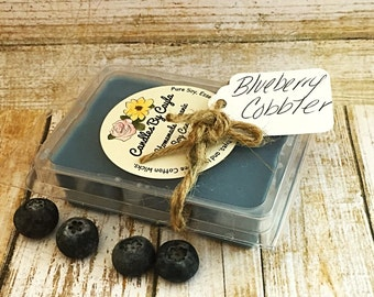 Blueberry Cobbler All Natural Soy Wax Melts - Blueberry Wax Melts - Dessert Wax Melts- Candle Tarts - Flameless Candles - Home Decor