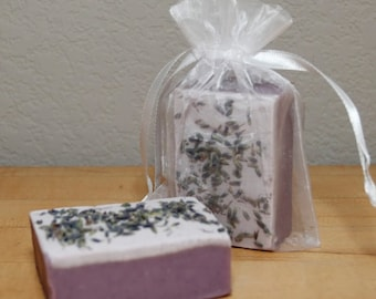 Lavender Chocolate Truffle Homemade Soap
