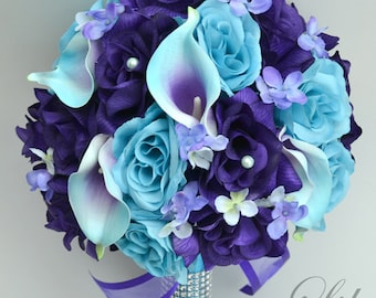 Stunning Purple And Blue Wedding Flowers Ideas - Styles & Ideas ...