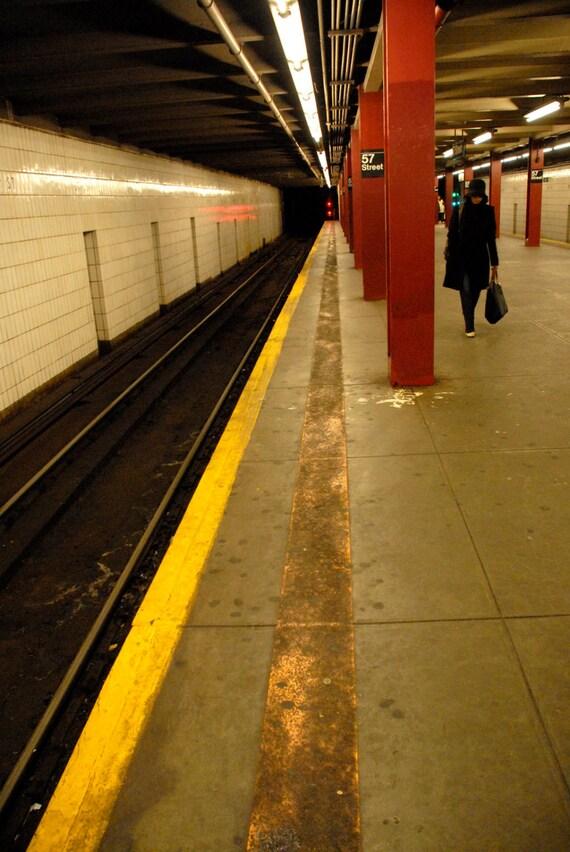 New York Photography 57th Street Subway City Prints Wall