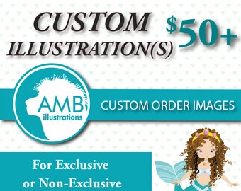 Custom Illustration Clipart - AMBillustrations Vector graphic - Exclusive Custom graphic design-.ai, .eps, jpeg, png, AMB-004