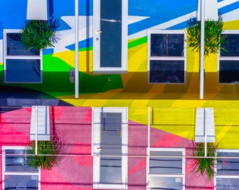 Abstract Building Art
