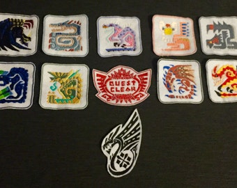 Monster Hunter Patches