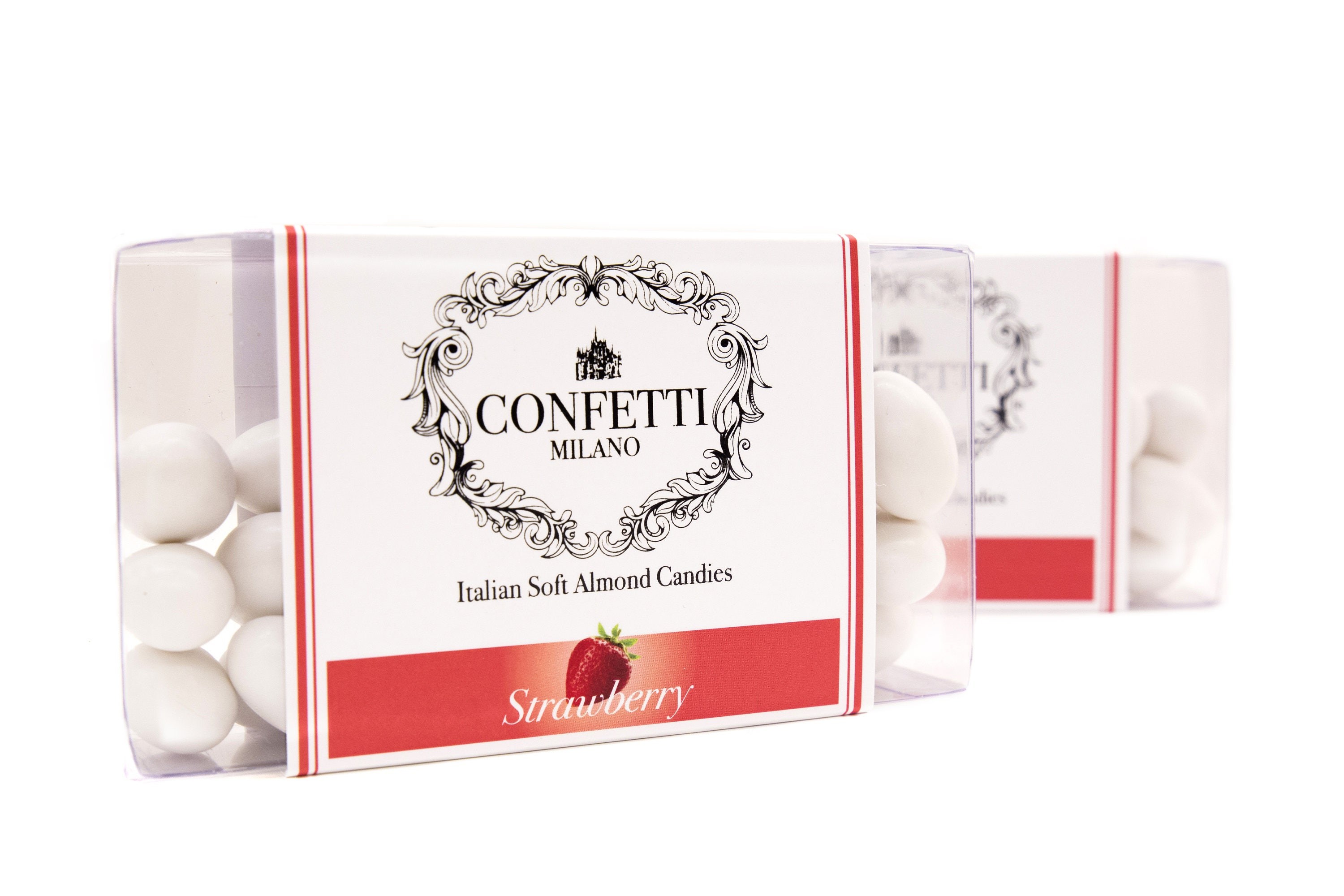 Strawberry Italian Wedding Confetti Almond candies soft