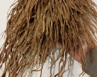 The beard of the wooden man piece of wood with roots left natural for artistic creative further processing props or buffet decorations