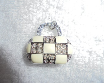 The cutest little tiny purse charm