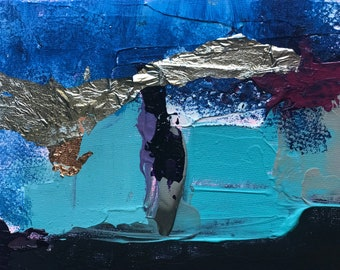 Digital Print of Original Abstract Acrylic Painting