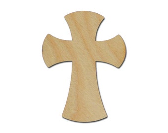 Unfinished Wood Cross Wooden Craft Crosses 15 inch  part # C15-121