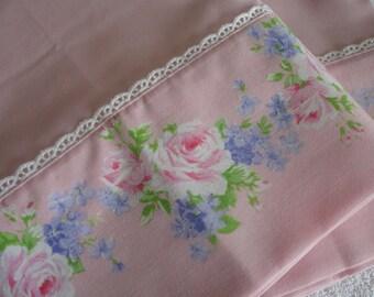 UNUSED 2 Vintage Pillowcases