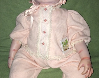 OOAK! Baby Rots-a-Lot Zombie Baby ~ Ashton Drake Gallery reborn doll ~ 24 inches