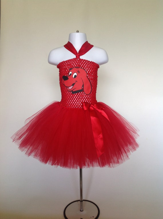 Clifford Dog Tutu Dress