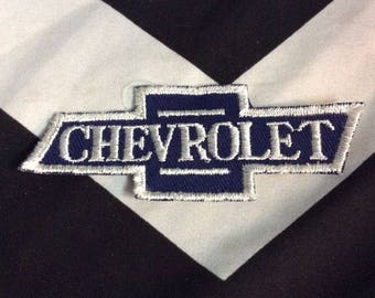 Embroidered Patch - Chevrolet bowtie Emblem